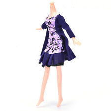 "Fashion Beautiful Handmade Party Clothes Dress For 9"" Barbie Doll FG"