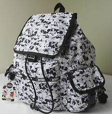 LeSportsac Disney Mickey Loves Minnie Mouse 7839 Voyager Backpack
