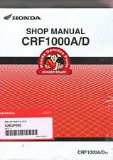 Rugged Roads - OEM Honda Workshop Manual - CRF1000A/D (2016 >)