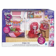 Little Pony Equestria Girls Minis My Pinkie Pie (Rosa) Fiesta de Pijamas Dormitorio Set