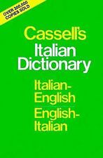 Cassell's Italian Dictionary (Thumb-indexed Version): Italian-English English-It