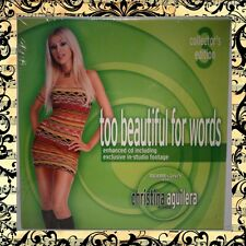 NEW Christina Aguilera Collectors Edition: #3 Too Beautiful For Words PROMO CD