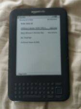 Amazon Kindle Keyboard (di terza generazione) 3.4.2 4GB, Wi-Fi e 3G
