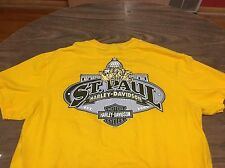 St. Paul Minnesota Harley Davidson Motorcycles Large T Shirt