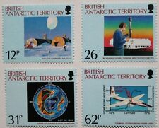 Discovery of Antarctic Ozone hole stamps, B.A.T. 1991, SG ref: 192-195, MNH