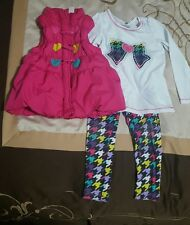 Toddler Girls Kids Headquarters Size 3T 3 Piece Outfit