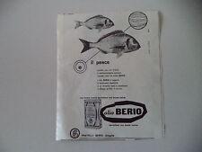 advertising Pubblicità 1957 OLIO BERIO