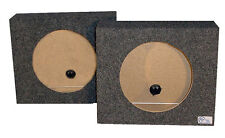 "1 Pair Subwoofer Truck Boxes 10"" R/T Mobile Sound System Woofer Enclosures"