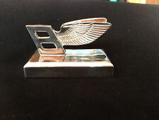 silver plated bentley paperweight
