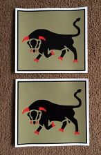 2X MILITARY ARMY LAND ROVER 11th Infantry Brigade  WOLF WIMIK DEFENDER DECALS