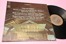 MOZART BACH LP MUSIC FROM MARLBORO ORIG USA STEREO EDITION EX !! TOP CLASSICA