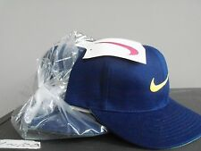 NIKE UNISEX Caps(6 p/s) with Ajustable Band Blue, New 1996-1997 Collectable