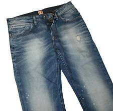 Hugo Boss 50195942 Pastel Blue Denim Orange 29 Pois Jeans W33 / L34
