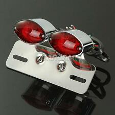 Turn Signals Plate Tail Light Fit Harley Davidson Dyna Glide Fat Bob Super Wide