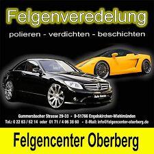 Felgen Alufelgen  Reparatur reparieren Veredeln VW