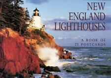 New England Lighthouses Postcard Book