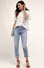 NWT Anthropologie Citizens Of Humanity Liya Torn Ultra High Rise Jeans Petite 30
