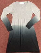 Aventura Organic Light Weight Grey Cotton Dress Adorable Size M