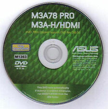 ASUS M3A-H HDMI Motherboard Drivers Installation Disk M1363