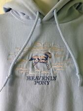 The Trail Of Painted Ponies Clothing Heavenly Pony Blue Medium Pullover Hoodie