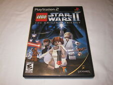 LEGO Star Wars II: The Original Trilogy (Playstation PS2) Original Complete Exc!