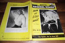 Falegnameria KRIMINAL-Roman # 274 -- con Lino Ventura-foto di copertina // 1.6.1956
