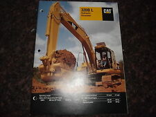 CAT CATERPILLAR 320B L EXCAVATOR SPECIFICATIONS BROCHURE BOOK MANUAL