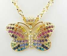KIRKS FOLLY RAINBOW BUTTERFLY MAGNETIC ENHANCER NECKLACE ~~NEW RELEASE~~ GT