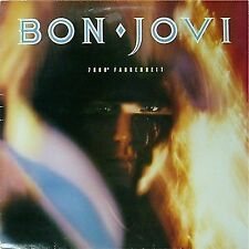BON JOVI '7800 DEGREES FAHRENHEIT' UK LP