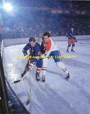 JEAN BELIVEAU In Action vs New York Rangers MONTREAL CANADIENS HOF GREAT WoW