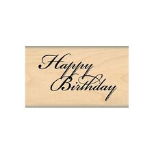MY SENTIMENTS EXACTLY RUBBER STAMPS HAPPY BIRTHDAY NEW STAMP MSE