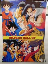 "Dragon Ball Z Characters 20.75"" x 14.75"" Poster Print Anime Super Goku GT"
