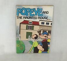"""VTG 1980 """"POPEYE AND THE HAUNTED HOUSE"""" PAPERBACK BOOK WEEKLY READER ORIGINAL"""