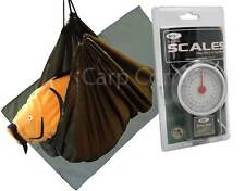Carp Coarse & Pike Fishing Care Unhooking Mat Set With Weighing Sling & Scales