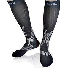 Compression Socks Blitzu Men and Women Performance Sport Running Socks. leg for