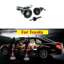 2X For Toyota laser projector Car door Led Welcome Logo Ghost Shadow Light Lamp