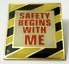 Pin Spilla Safety Begins With Me