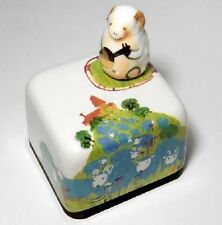Chinese Zodiac Sign Sheep Korea Orgel Music Box Paperweight Hand Craft Figure