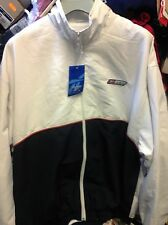 REEBOK TRACT TOP IN  /BEIGE /NAVYIN MEDIUM 38/40INCH AT £18 ATHLECTIC DEPT