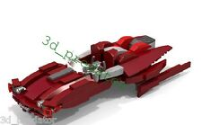 BailOrgana's XJ-2 Airspeeder CUSTOM Bauanleitung Instruction für LEGO®StarWars™®