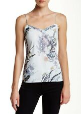 TED BAKER 'Cynaria' floral print camisole tank top size medium NWT