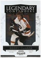 10/11 PLAYOFF CONTENDERS LEGENDARY CONTENDERS Bobby Clarke #12