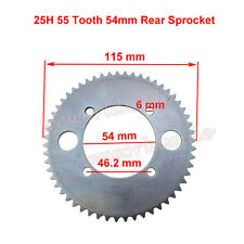 55 T 54mm Rear Sprocket For Razor E300 Electric Scooter Compatible #25 25H Chain