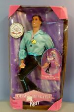 Vintage Mattel USA Olympic Skater Ken Barbie Doll Collector NRFP 1997