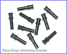 Lego Technic 10 x Verbinder schwarz - 32054 - Connector Pins Black - NEU / NEW