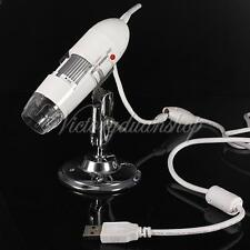 25X-200X Camera 2MP Mega Pixels USB Digital Microscope Endoscope 4 LED Magnifier