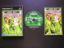 JEU Sony PLAYSTATION 2 PS2 : ARMY MEN SARGE'S HEROES 2 (3DO COMPLET envoi suivi)