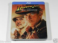 Indiana Jones and the Last Crusade Blu-ray Steelbook [UK] 4000 PRINT RARE!!!