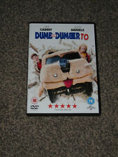 DUMB AND DUMBER TO : JIM CARREY / JEFF DANIELS 2015 COMEDY DVD (VGC) FREE UK P&P