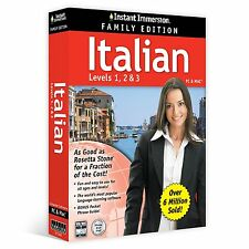 Instant Immersion Italian BEST SELLING LEARNING SOFTWARE NEW EXPRESS POST